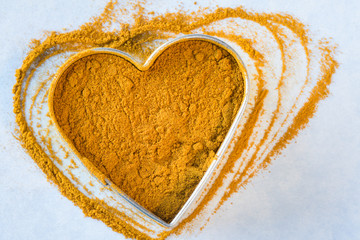 Heart healthy turmeric powder