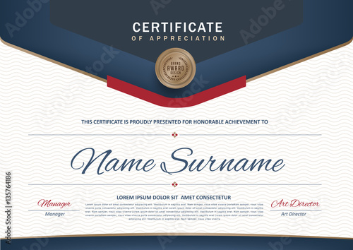 """Elegant Marriage Certificate Template Golden Edition: """"certificate Template With Luxury Black And Golden Elegant"""