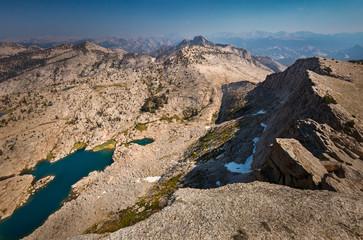 Fototapete - We shall return - View of Tuolumne Peak from Mt. Hoffmann