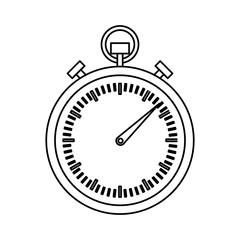 analog chronometer icon image vector illustration design