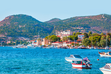 Foca resort town near Izmir, Turkey