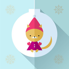 Toy greeting card