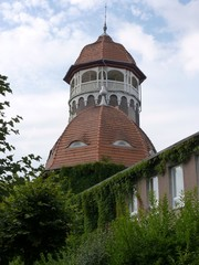 Башня водолечебницы - символ Светлогорска