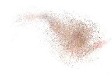 Abstract dust design for use as background