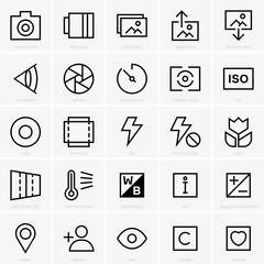 Photo site icons