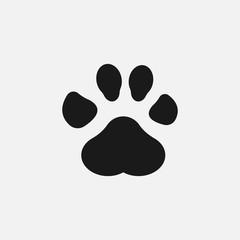 Paw Print icon vector illustration.