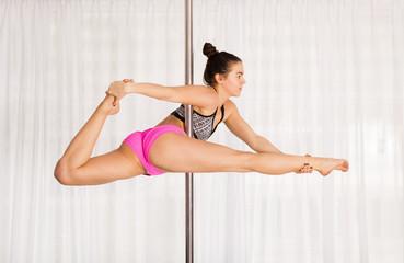 Beautiful pole dancer