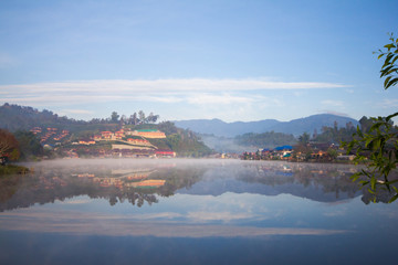 Blur Ban Rak Thai  Mae Hong Son in thailand