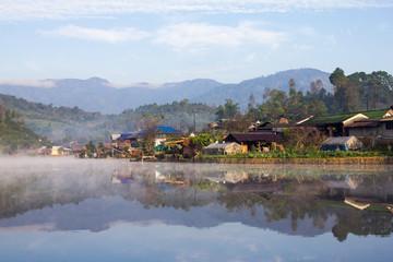 Ban Rak Thai  Mae Hong Son in thailand