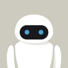 Bot. Chatbot. Robot in Vector