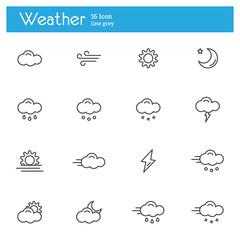 Weather icons, Meteorology icons