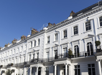 Georgian Stucco Property in London