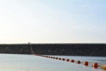 Buoyancy in dam