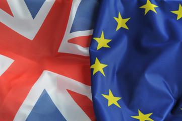 Grossbritannien, Europa, Brexit, Flaggen, Fahnen, Austritt, Großbritannien, Britain, Referendum, Vereinigtes Königreich, Wechselkurs, Politik, Europäische Union, EU, Unabhängigkeit, Gemeinschaft