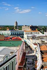 Blick auf Camagüey, Kuba