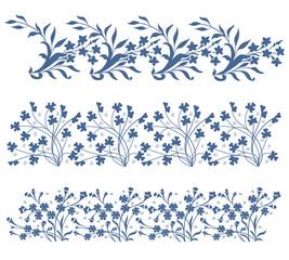 Vector ornamental floral element.