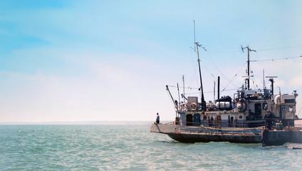 Sailor and sea