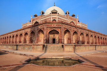 Humayun Tomb in New Delhi.