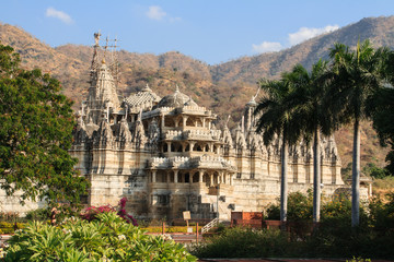 Exterior view of Ranakpur temple. India.