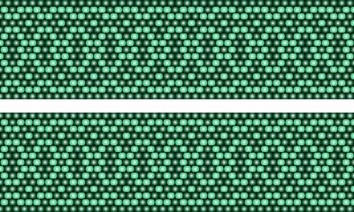 vector illustration of a pattern beaded stripe