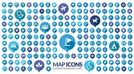 symbole map