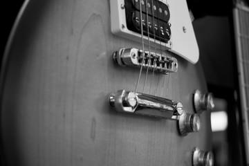 elegant string electric guitar painted