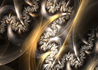 Fractal Spreading Roots  -  Fractal Art