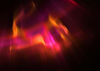 Fractal  Aurora Borealis - Fractal Art