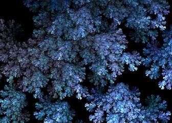Fractal Alien Moss Branches   - Fractal Art