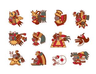 aztec maya avatar collection