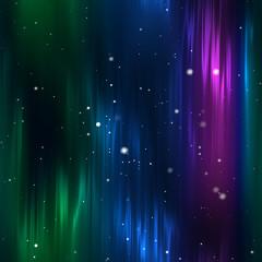 Continuous  Aurora Borealis  Background