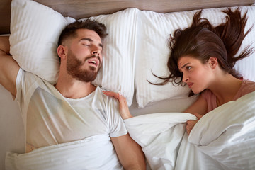 couple Problem with snoring