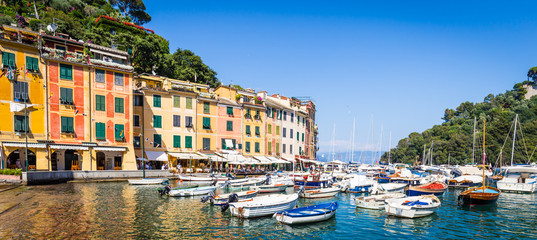 Portofino, Italy - Summer 2016 - view from the sea