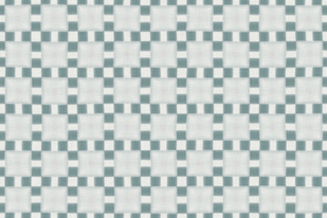 Continuous thin flaxen fabric pattern