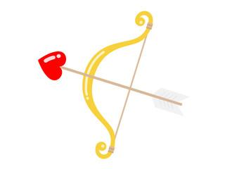 キューピットの弓矢