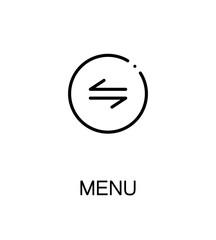 Menu flat icon