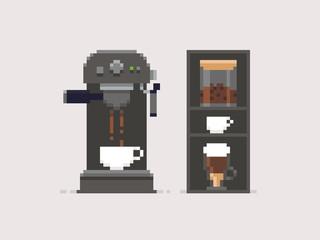 Pixel Art Coffee
