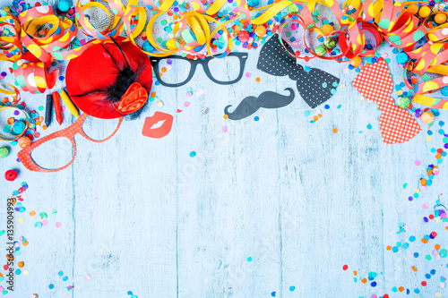 Karneval Fasching Hintergrund Stock Photo And Royalty Free Images