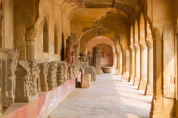 A corridor at Chand Baori Stepwell
