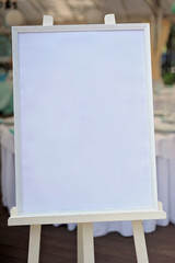 Board, which stands on the easel with drawing-paper