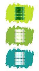 Logo énergie solaire.