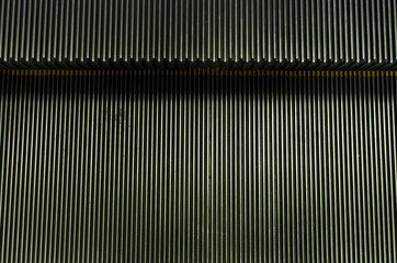 Steps of escalator