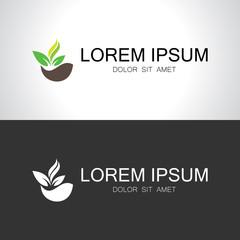 green organic logo