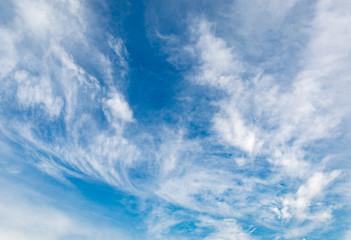 light clouds in sky