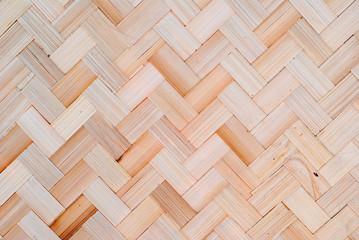 handmade bamboo weave texture background