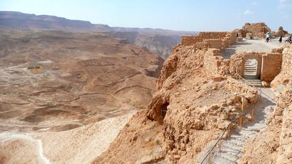 Festung Masada in Israel
