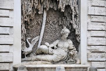 Roma, incrocio delle quattro Fontane: Giunone