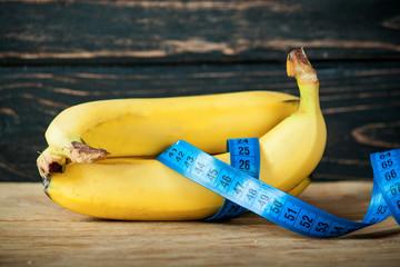 Ripe fresh bananas