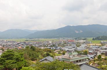 View of Sakai City, Fukui Prefecture, Japan