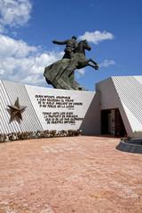 Antonio Maceo Denkmal am Plaza de la Revolución, Santiago de Cuba